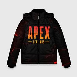 Куртка зимняя для мальчика Apex Legends: Dark Game цвета 3D-черный — фото 1