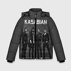 Куртка зимняя для мальчика Kasabian: Boys Band цвета 3D-черный — фото 1