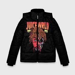 Детская зимняя куртка для мальчика с принтом Juice WRLD, цвет: 3D-черный, артикул: 10173990506063 — фото 1