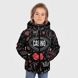 Куртка зимняя для мальчика Casino цвета 3D-черный — фото 2