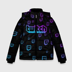 Куртка зимняя для мальчика Twitch: Neon Style - фото 1