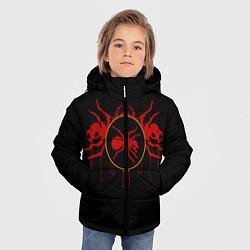 Куртка зимняя для мальчика The Prodigy: Red Ants цвета 3D-черный — фото 2