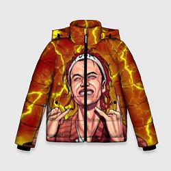Куртка зимняя для мальчика Gone Fludd art 2 цвета 3D-черный — фото 1
