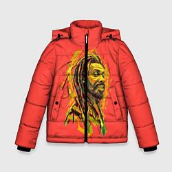 Куртка зимняя для мальчика Rasta Art цвета 3D-черный — фото 1