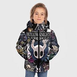 Куртка зимняя для мальчика Hollow Knight цвета 3D-черный — фото 2
