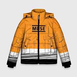 Куртка зимняя для мальчика Muse: Orange Mood - фото 1