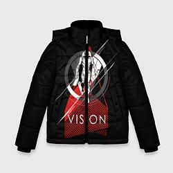 Куртка зимняя для мальчика Vision цвета 3D-черный — фото 1