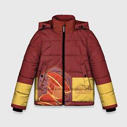 Куртка зимняя для мальчика Преторианская гвардия цвета 3D-черный — фото 1
