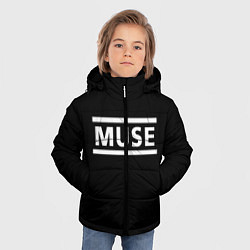 Куртка зимняя для мальчика MUSE - фото 2