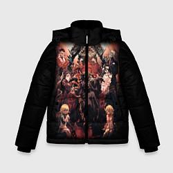 Куртка зимняя для мальчика Overlord 1 цвета 3D-черный — фото 1