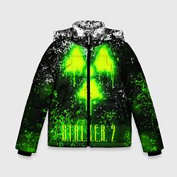 Куртка зимняя для мальчика S T A L K E R 2 цвета 3D-черный — фото 1