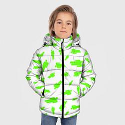 Куртка зимняя для мальчика Billie Eilish: Blohsh цвета 3D-черный — фото 2