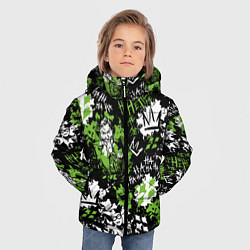 Куртка зимняя для мальчика Villains цвета 3D-черный — фото 2