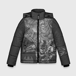 Куртка зимняя для мальчика Batman 80th anniversary цвета 3D-черный — фото 1