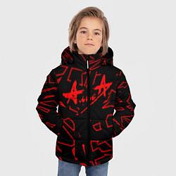 Куртка зимняя для мальчика Алиса цвета 3D-черный — фото 2
