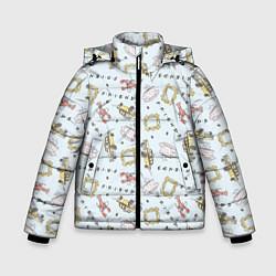 Куртка зимняя для мальчика Friends цвета 3D-черный — фото 1