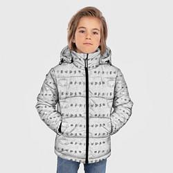 Куртка зимняя для мальчика Друзья цвета 3D-черный — фото 2