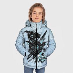 Куртка зимняя для мальчика Superman, Batman, Green Lanter цвета 3D-черный — фото 2