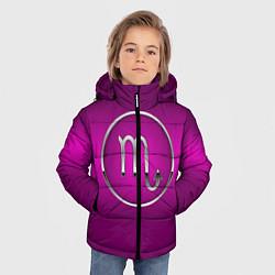 Куртка зимняя для мальчика Scorpio Скорпион цвета 3D-черный — фото 2