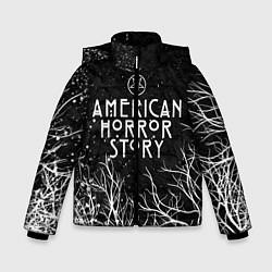 Куртка зимняя для мальчика AHS цвета 3D-черный — фото 1