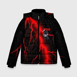 Куртка зимняя для мальчика Brawl Stars CROW цвета 3D-черный — фото 1