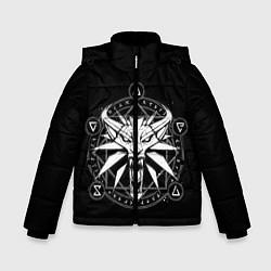 Куртка зимняя для мальчика The Witcher цвета 3D-черный — фото 1
