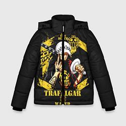 Куртка зимняя для мальчика One Piece Trafalgar Water цвета 3D-черный — фото 1
