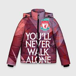 Куртка зимняя для мальчика Ливерпуль цвета 3D-черный — фото 1