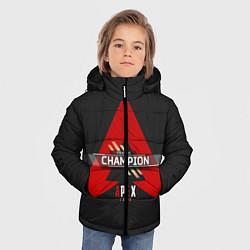 Куртка зимняя для мальчика Apex Legends Champion цвета 3D-черный — фото 2