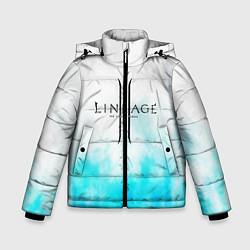 Детская зимняя куртка для мальчика с принтом LINEAGE 2, цвет: 3D-черный, артикул: 10202647706063 — фото 1