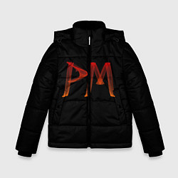 Куртка зимняя для мальчика Пэйтон Мурмайер цвета 3D-черный — фото 1