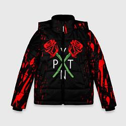 Куртка зимняя для мальчика Payton Moormeie - тикток цвета 3D-черный — фото 1