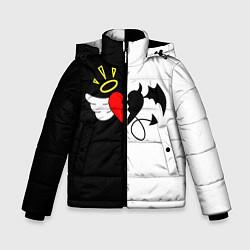 Куртка зимняя для мальчика ASTRALIS цвета 3D-черный — фото 1