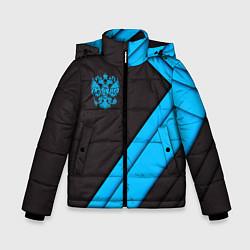 Куртка зимняя для мальчика Полиция цвета 3D-черный — фото 1