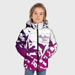 Куртка зимняя для мальчика Three Days Grace цвета 3D-черный — фото 2