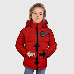 Куртка зимняя для мальчика THREE DAYS GRACE RED цвета 3D-черный — фото 2