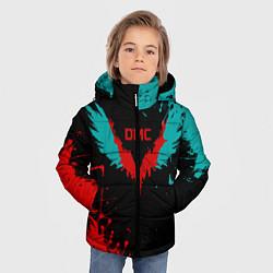 Куртка зимняя для мальчика DMC цвета 3D-черный — фото 2