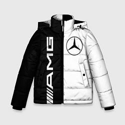 Куртка зимняя для мальчика MERCEDES AMG цвета 3D-черный — фото 1