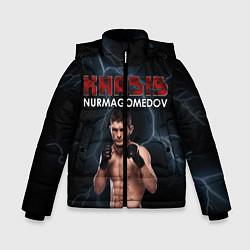 Куртка зимняя для мальчика ХАБИБ цвета 3D-черный — фото 1