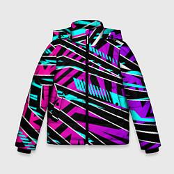 Куртка зимняя для мальчика Форма для фитнеса цвета 3D-черный — фото 1
