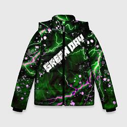 Куртка зимняя для мальчика GreenDay цвета 3D-черный — фото 1