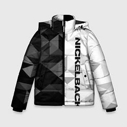 Куртка зимняя для мальчика Nickelback цвета 3D-черный — фото 1