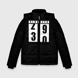Куртка зимняя для мальчика OLDOMETR 30 лет цвета 3D-черный — фото 1