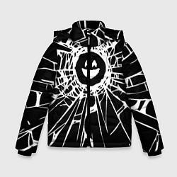 Куртка зимняя для мальчика BLACK MIRROR цвета 3D-черный — фото 1