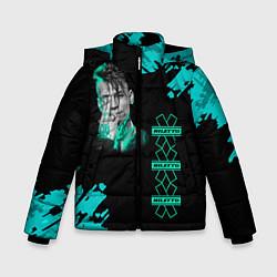 Детская зимняя куртка для мальчика с принтом NILETTO, цвет: 3D-черный, артикул: 10211073506063 — фото 1