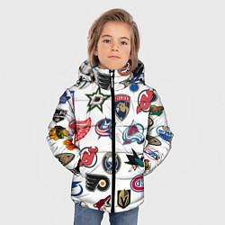 Куртка зимняя для мальчика Daewoo цвета 3D-черный — фото 2