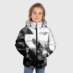 Куртка зимняя для мальчика Jaguar XKR цвета 3D-черный — фото 2