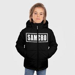 Куртка зимняя для мальчика Soa цвета 3D-черный — фото 2