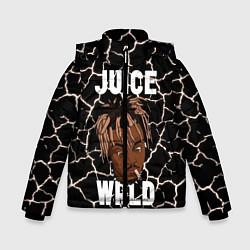 Детская зимняя куртка для мальчика с принтом Juice WRLD, цвет: 3D-черный, артикул: 10212973906063 — фото 1