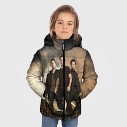 Куртка зимняя для мальчика Supernatural цвета 3D-черный — фото 2